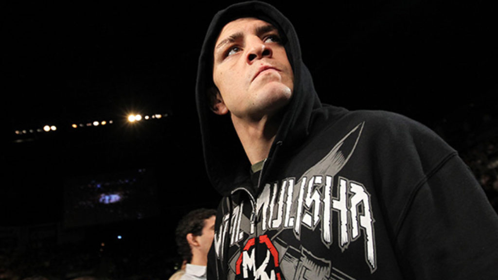 Nick Diaz Shows Busted Elbow Right After Prison Release!