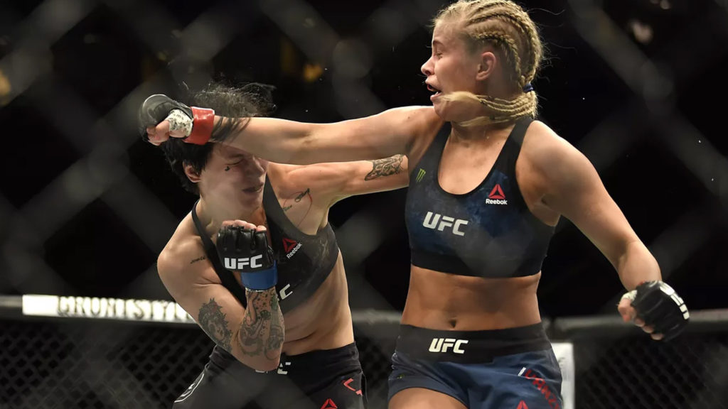 Coach Reveals Why He Let Paige VanZant Fight With Broken Arm