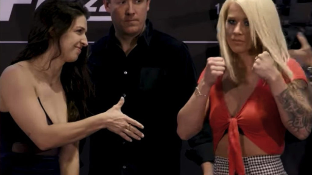 UFC 224 Media Day Staredowns