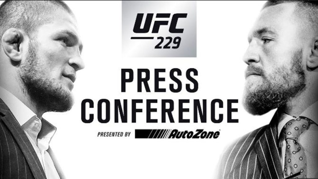 Watch: UFC 229 Press Conference Live Stream