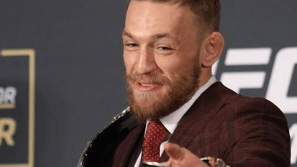 WATCH: Chaos Erupts As Conor McGregor Shoves Referee Marc Goddard At Bellator 187