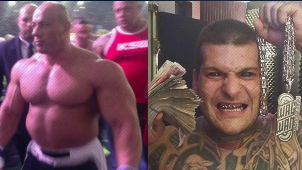 WATCH: Massive Bodybuilder vs. Rapper With Tattooed Eyeballs – Freakshow Fight!