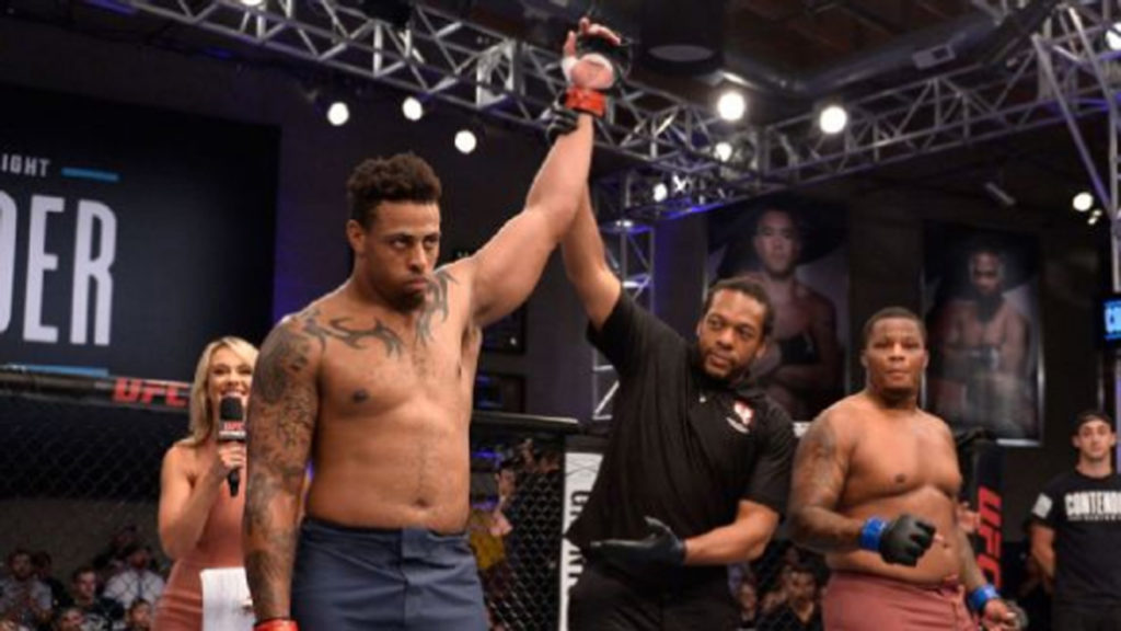 Former NFL Player Greg Hardy Knocked Tebaris Gordon Out After Only 17 Seconds!