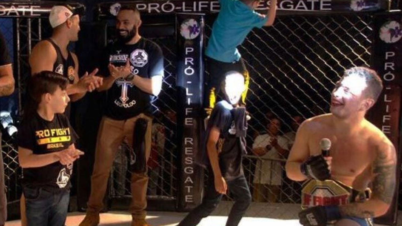 luis This Guy Attends MMA Event As A Fan, Stunned The Crowed By Winning The title In Brazil