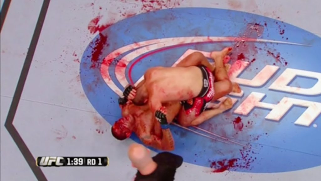 WATCH: When MMA Fighters Gets Out Of Control