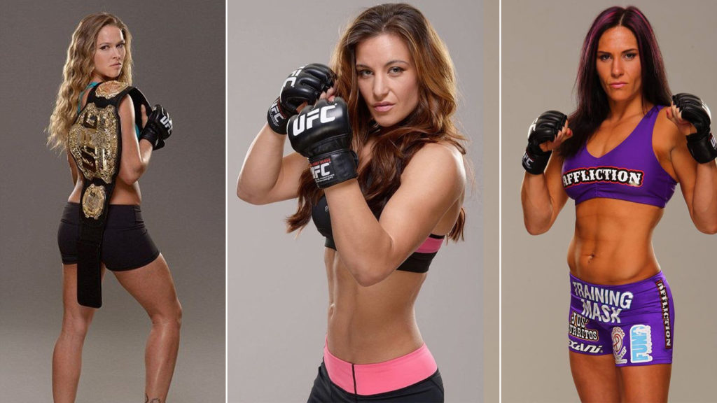 Best Female Fighters Of All Time In MMA