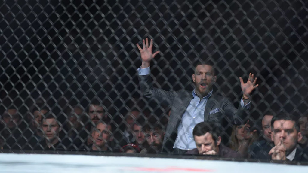 At UFC Fight Night 118, Referee Warned Conor Mcgregor