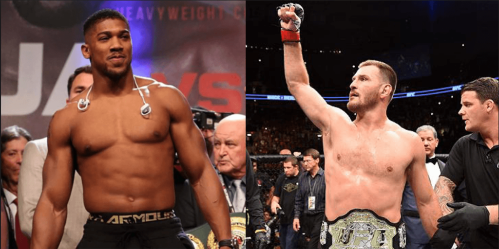 Stipe Miocic Extremely Favored For Potential Anthony Joshua MMA Fight