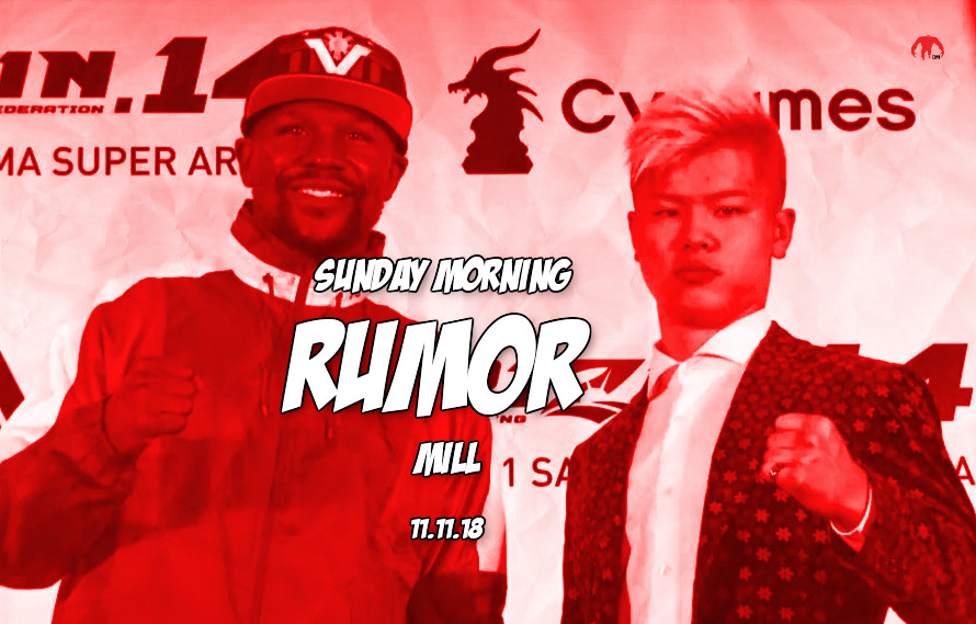 Floyd vs. Tenshin, Rousey, UFC weight classes & more in the Sunday Morning Rumor Mill