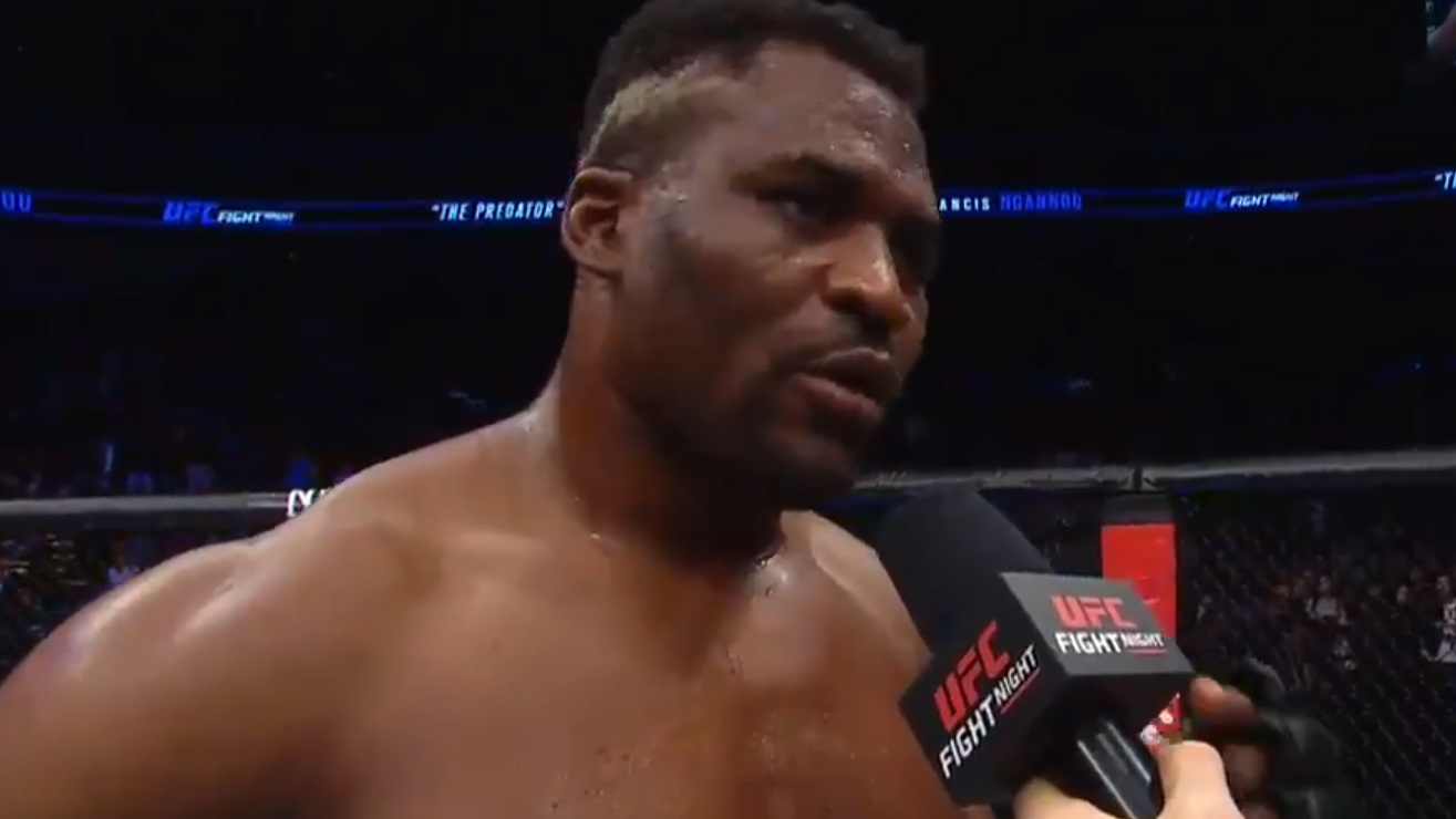 Alistair Overeem Wants Francis Ngannou Rematch Following Win At UFC Beijing