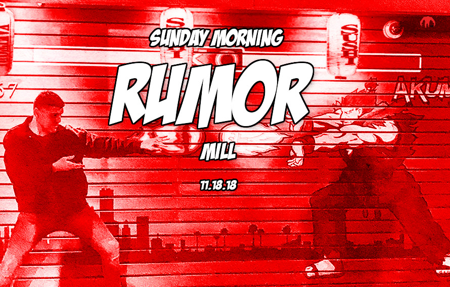 Diaz holdup, Rousey update, Mac vs. Cowboy & more in the Sunday Morning Rumor Mill