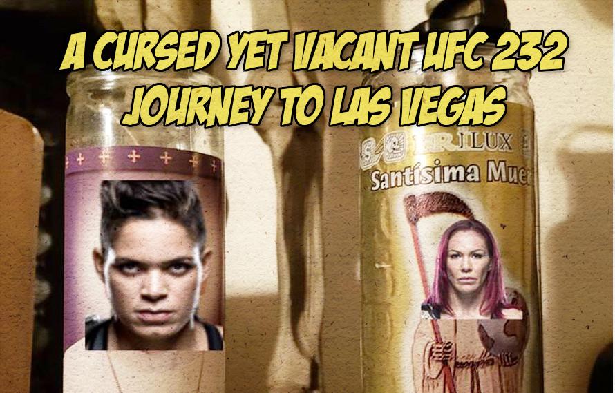 UFC 232: A cursed yet vacant UFC 232 journey to Las Vegas