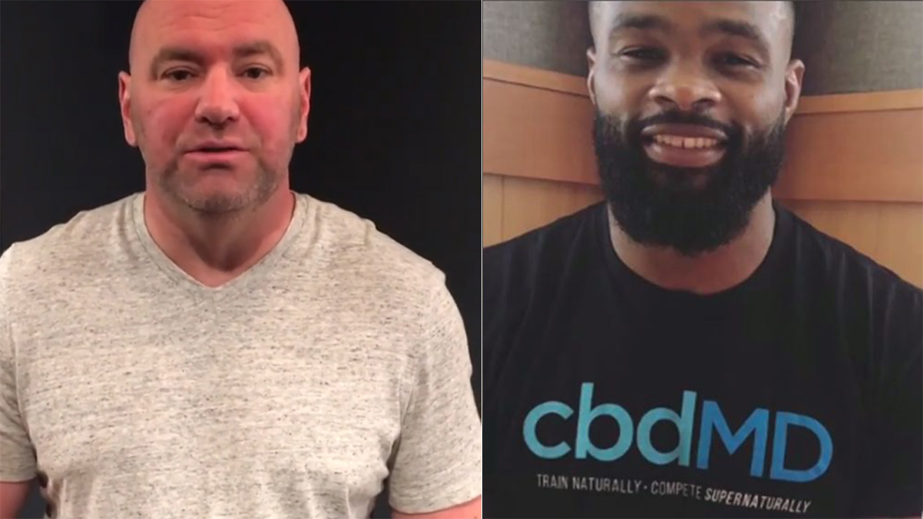 Dana White Says Welterweight Division Will Move On With Or Without Tyron Woodley