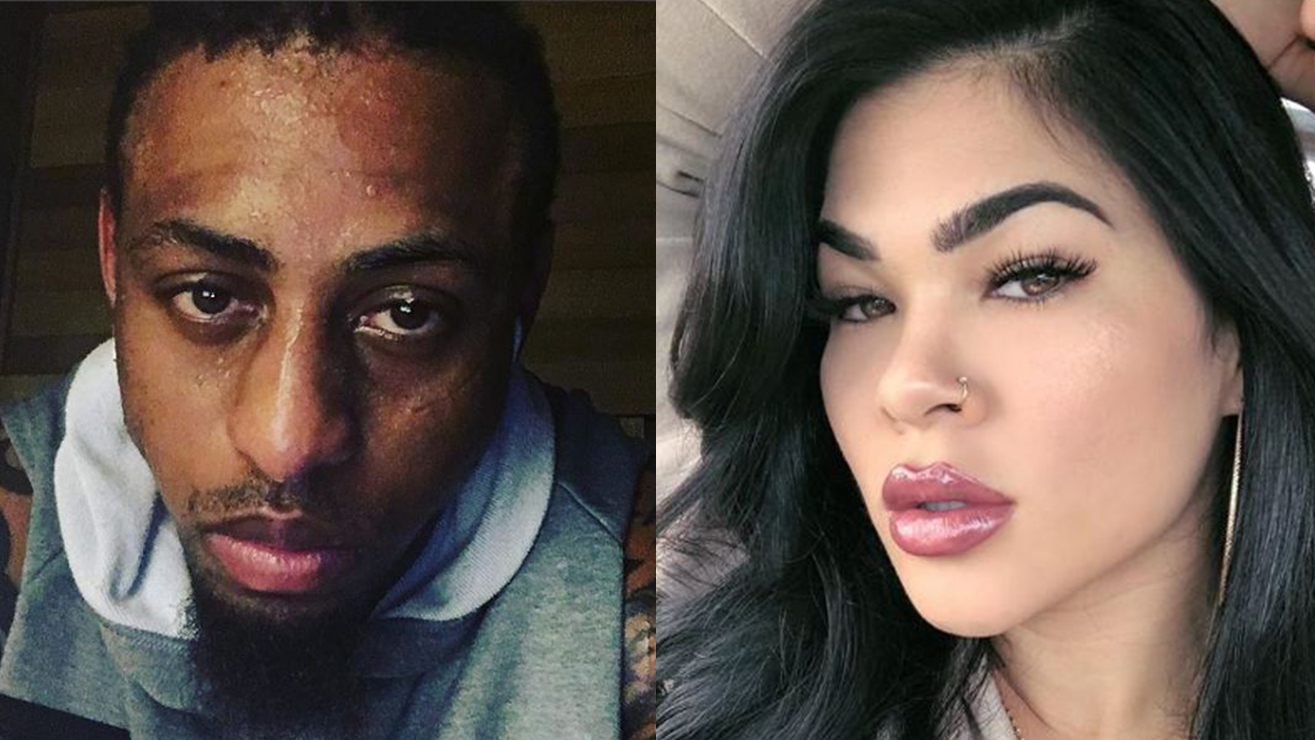 Twitter Reacts To Greg Hardy, Rachael Ostovich On The Same Card
