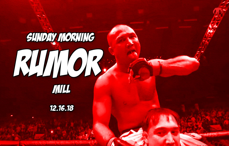 UFC in Hawaii, Cain vs. Francis & more in the Sunday Morning Rumor Mill