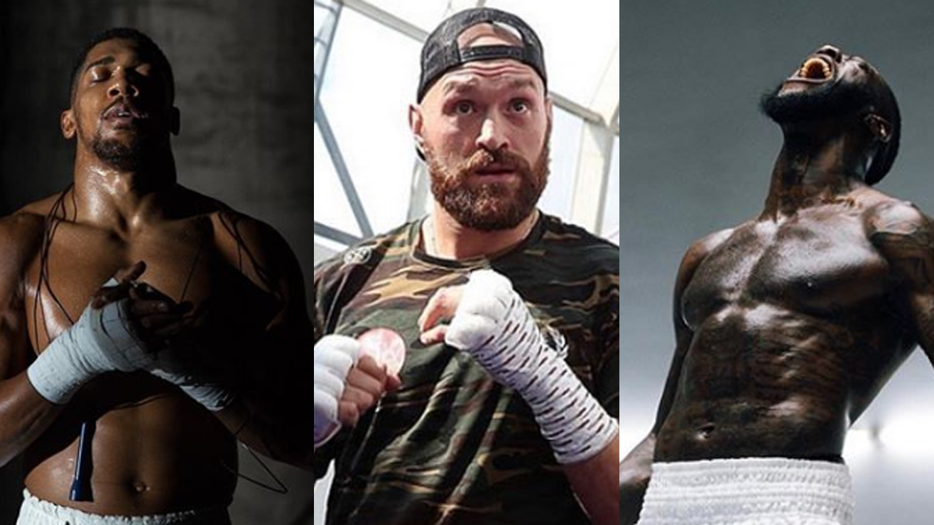 Both Tyson Fury And Deontay Wilder Call Out 'Chicken' Anthony Joshua