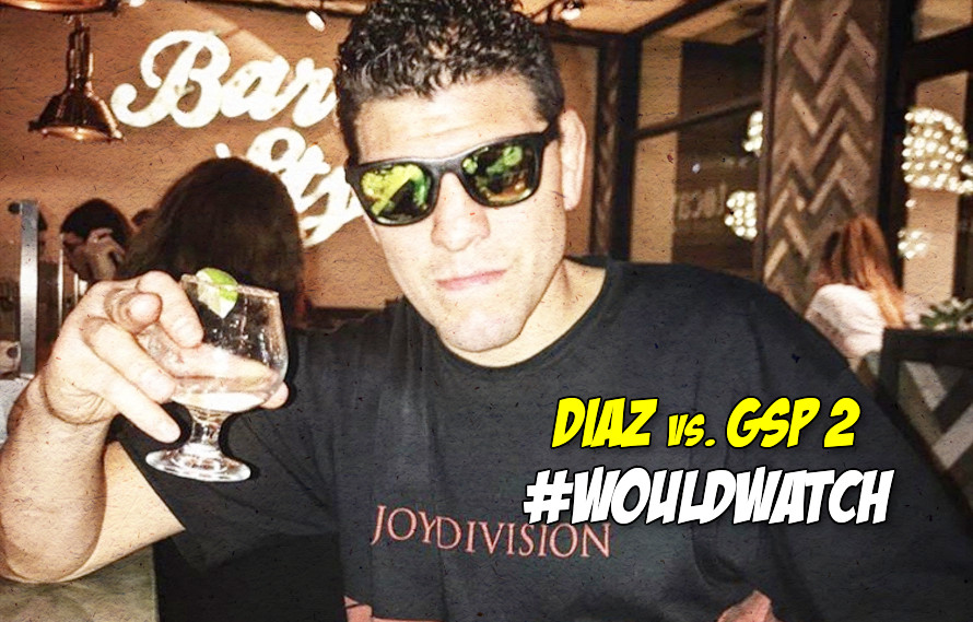 Video: An angry Nick Diaz kind of calls out GSP
