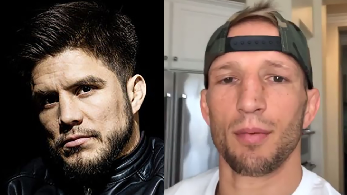 """TJ Dillashaw Claims He'd Defeat Henry Cejudo """"99 Out Of 100"""" Times"""
