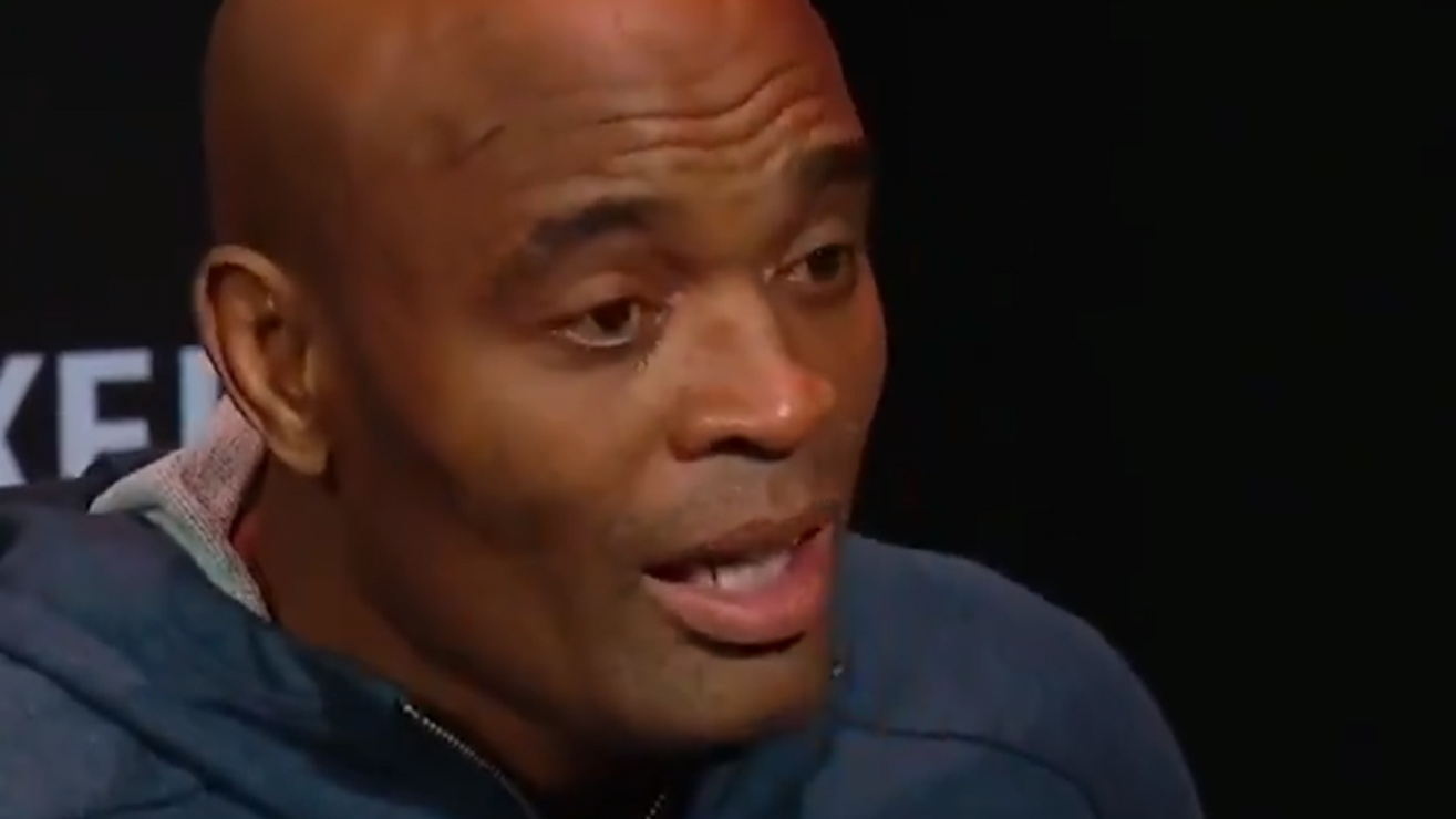 Video: Anderson Silva Becomes Emotional During UFC 234 Weigh-Ins: 'I Work My Entire Life For This Sport.'