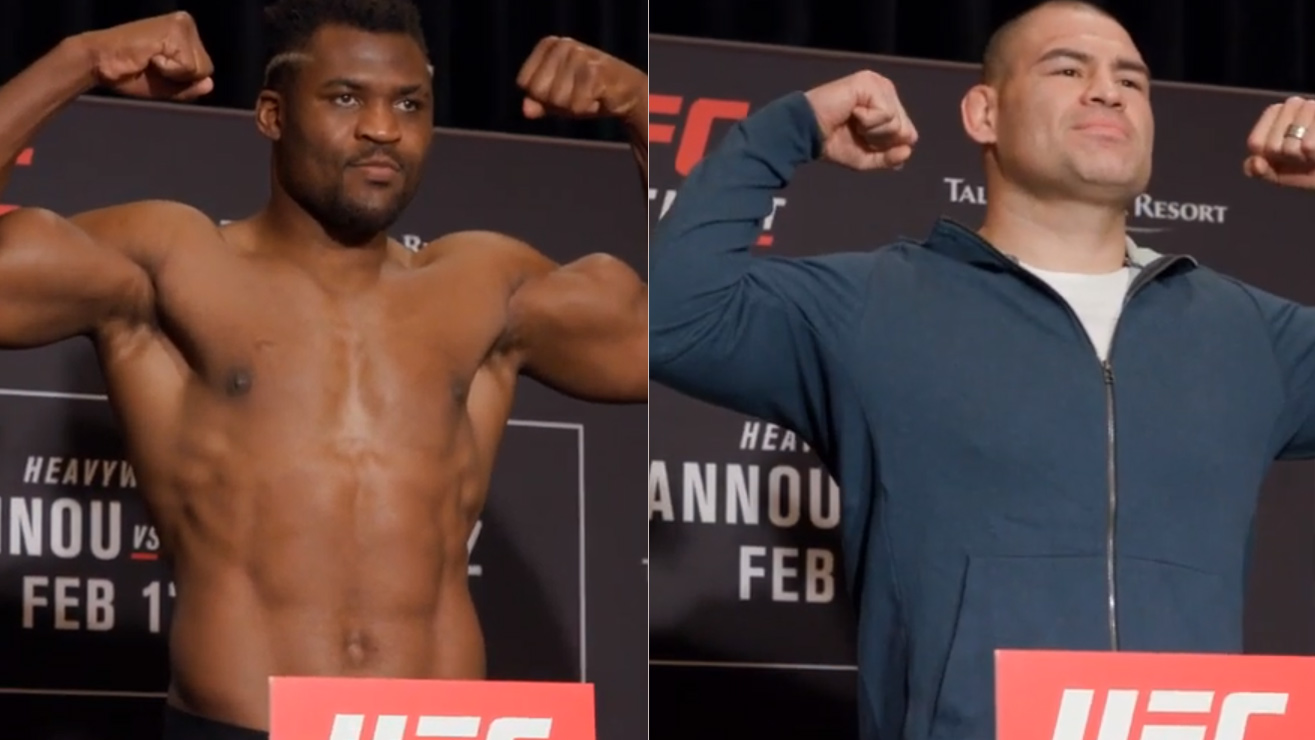 Watch: UFC Phoenix 'Velasquez vs. Ngannou' Weight-In Results, Three Fighters Missed Weight