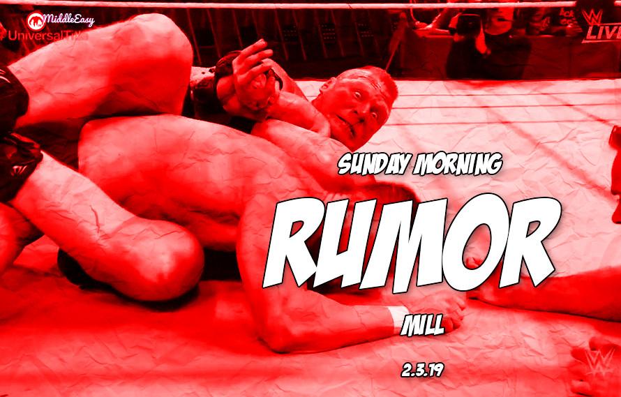 Brock Lesnar's future, Aldo retirement & more in the Sunday Morning Rumor Mill