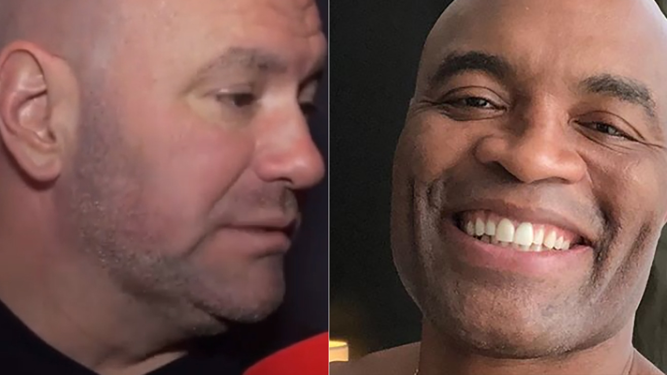 Dana White Says Adesanya Fight Could Be Last For Anderson Silva IF He Get's KO'd