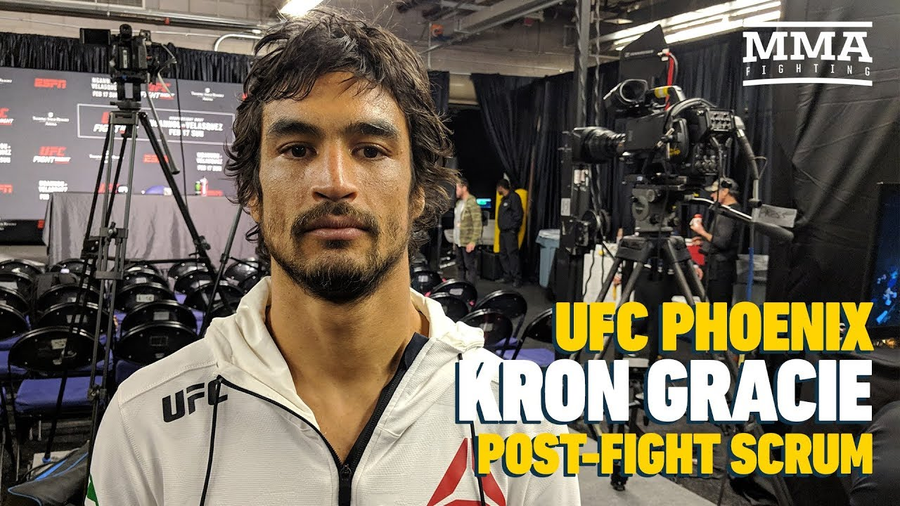 "Kron Gracie: It Is ""Kind Of Cool"" McGregor Respects Him And His Family"