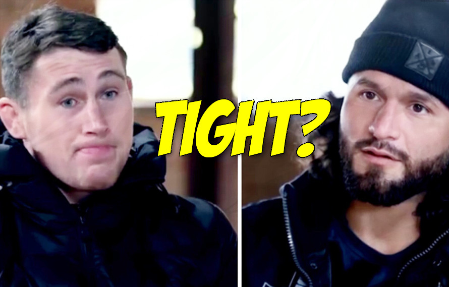 Jorge Masvidal has the best reaction when Darren Till says he'll KO him