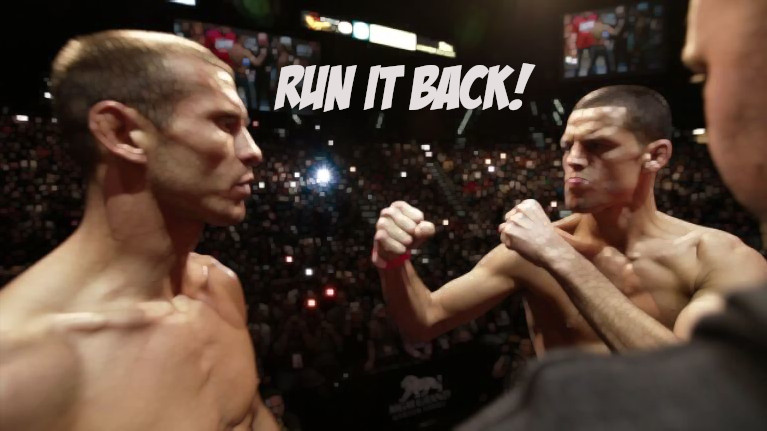 Cowboy Cerrone Has A Talk With Nate Diaz : 'I'll Fight You' Under One Condition