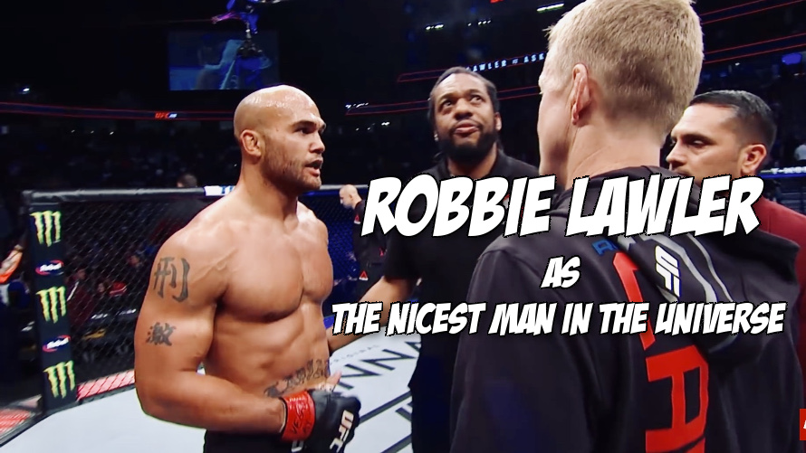 Robbie Lawler is a saint, watch what he told Herb Dean after getting screwed at UFC 235