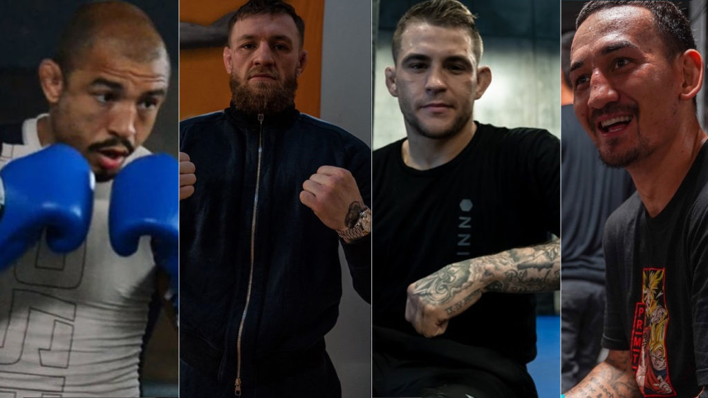 Conor Mcgregor Says He Want Rematches With Jose Aldo, Max Holloway & Dustin Poirier