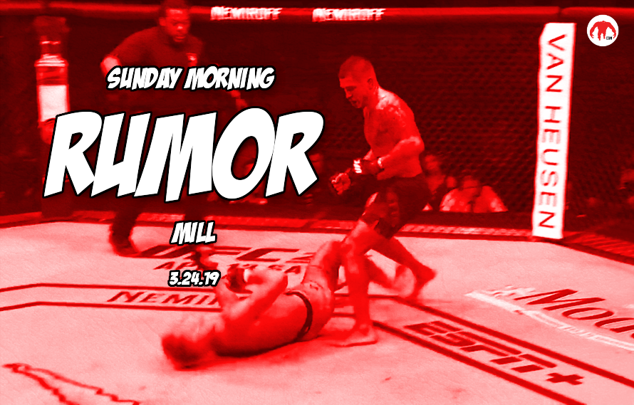 McGregor's next opponent, DC fights, Rousey & more in the Sunday Morning Rumor Mill
