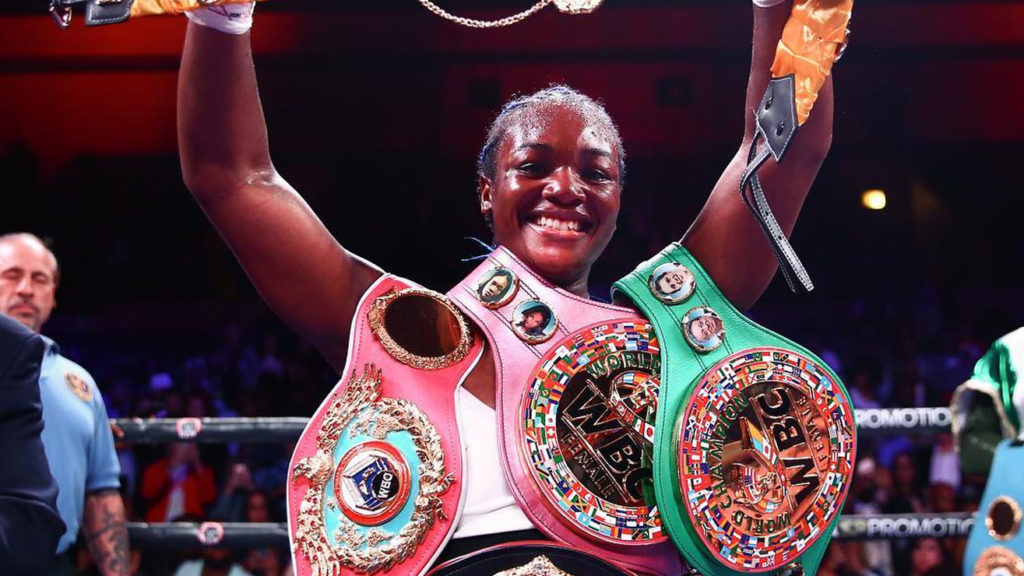 Claressa Shields Wants To Be 'Two-Sport Star' Says Promoter