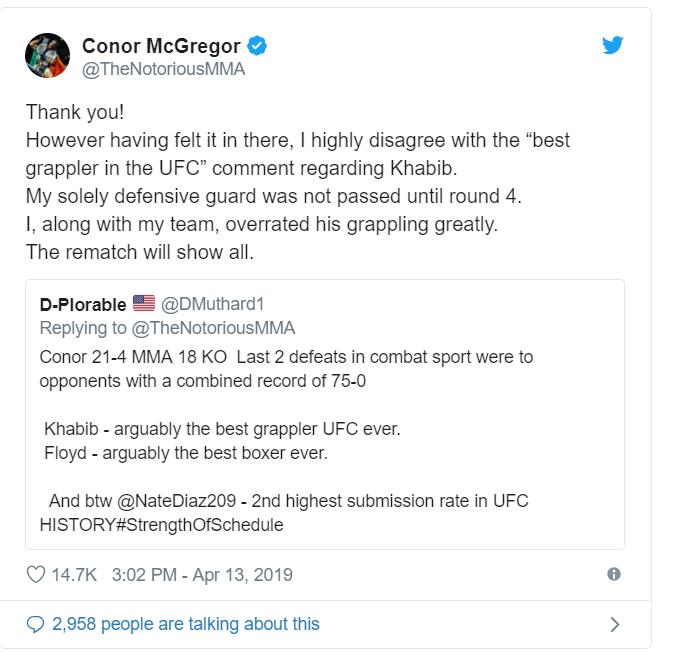 Conro Mcgregor