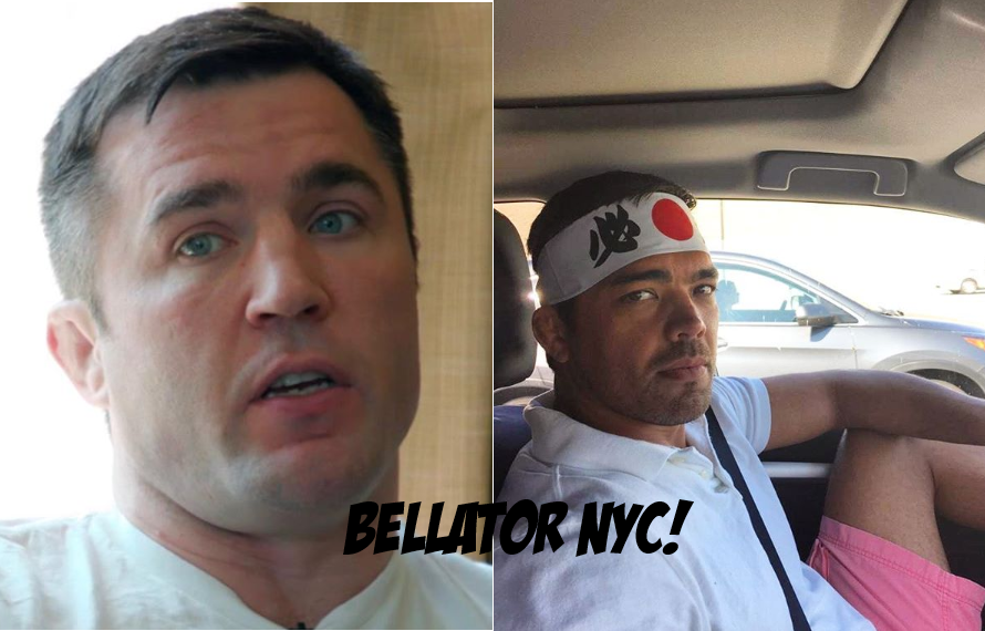 Chael Sonnen Set To Face Lyoto Machida At MSG