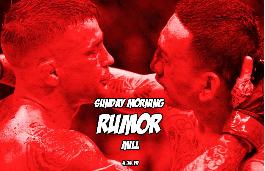 Dustin vs. Khabib, Brock update & more in the Sunday Morning Rumor Mill