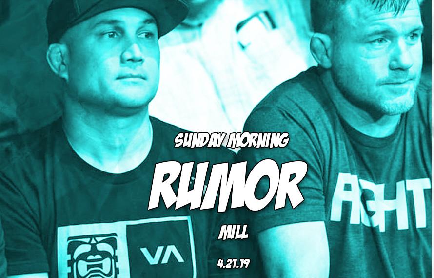 Penn's legal trouble, McGregor update, & more in the Sunday Morning Rumor Mill