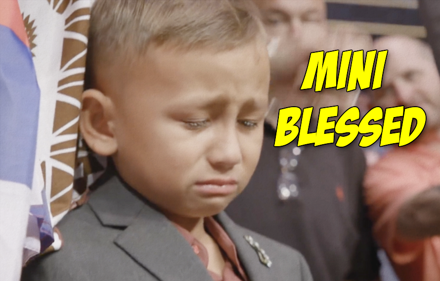 Video Mini Blessed Reacting To His Dad Losing Is Sad But Also The Realest