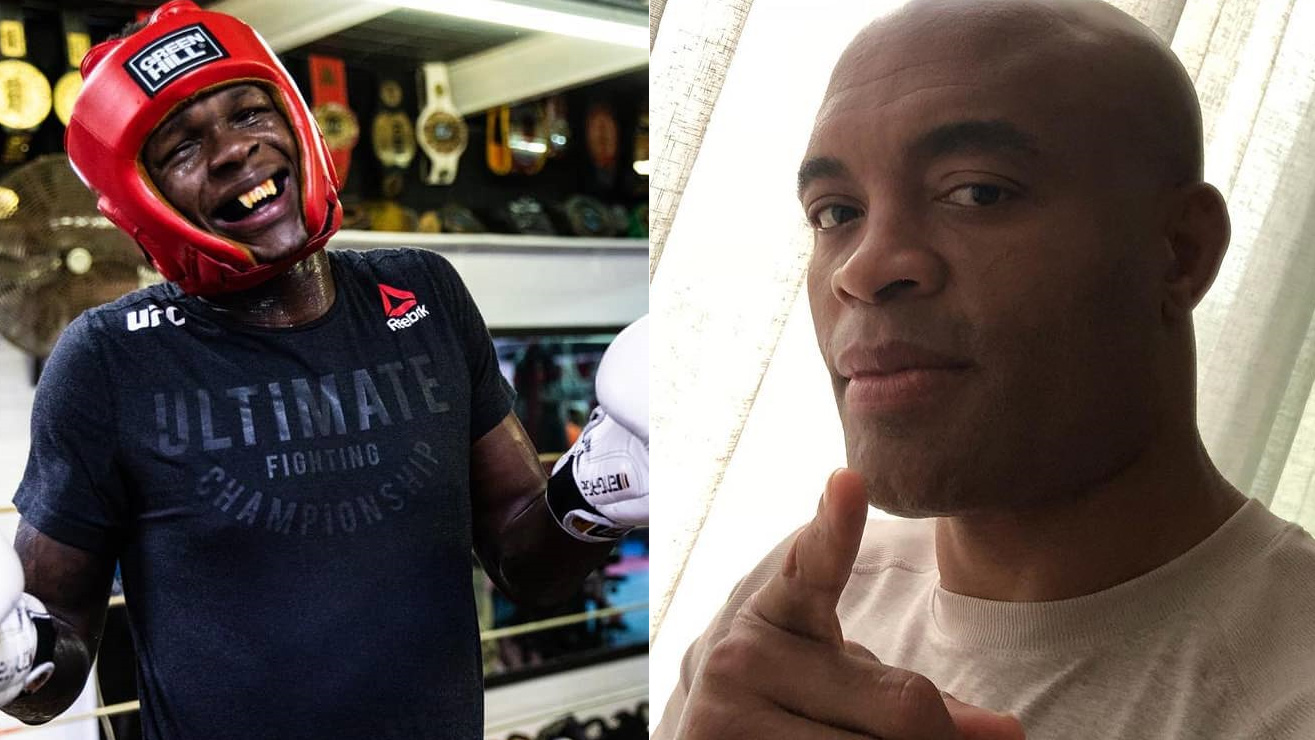 Anderson Silva Not Liking It How Israel Adesanya Took Things Too Far By 'Disrespecting' Jon Jones