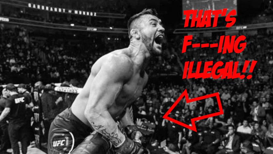 Pedro Munhoz Gets $2,500 Fine By NAC For UFC 235 Cage Celebration