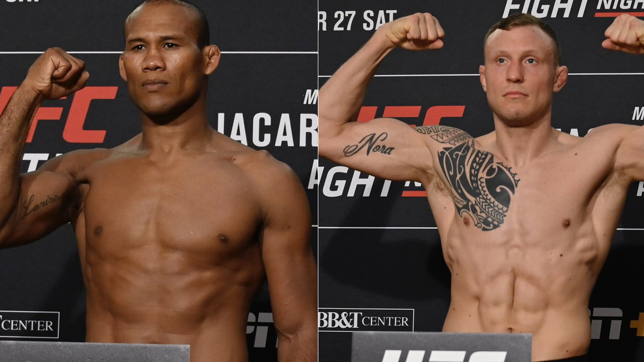 Video: UFC Fight Night 150 'Jacare vs Hermansson' Weigh-In Results