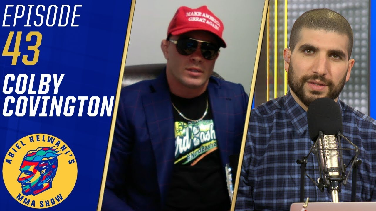 Colby Covington really is turning into Tito Ortiz stumbling promos