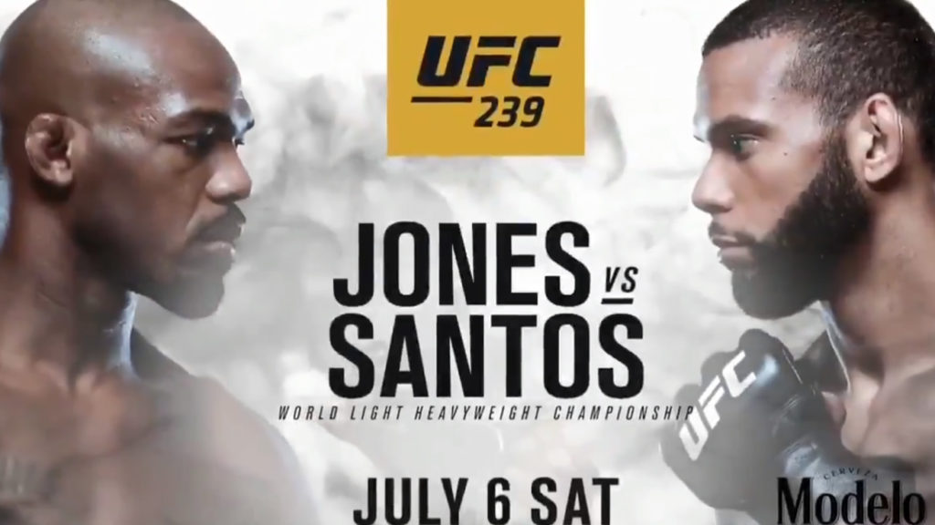 UFC 239 'Jones vs. Santos' Fully Stacked Fight Card's First Promo Is Out
