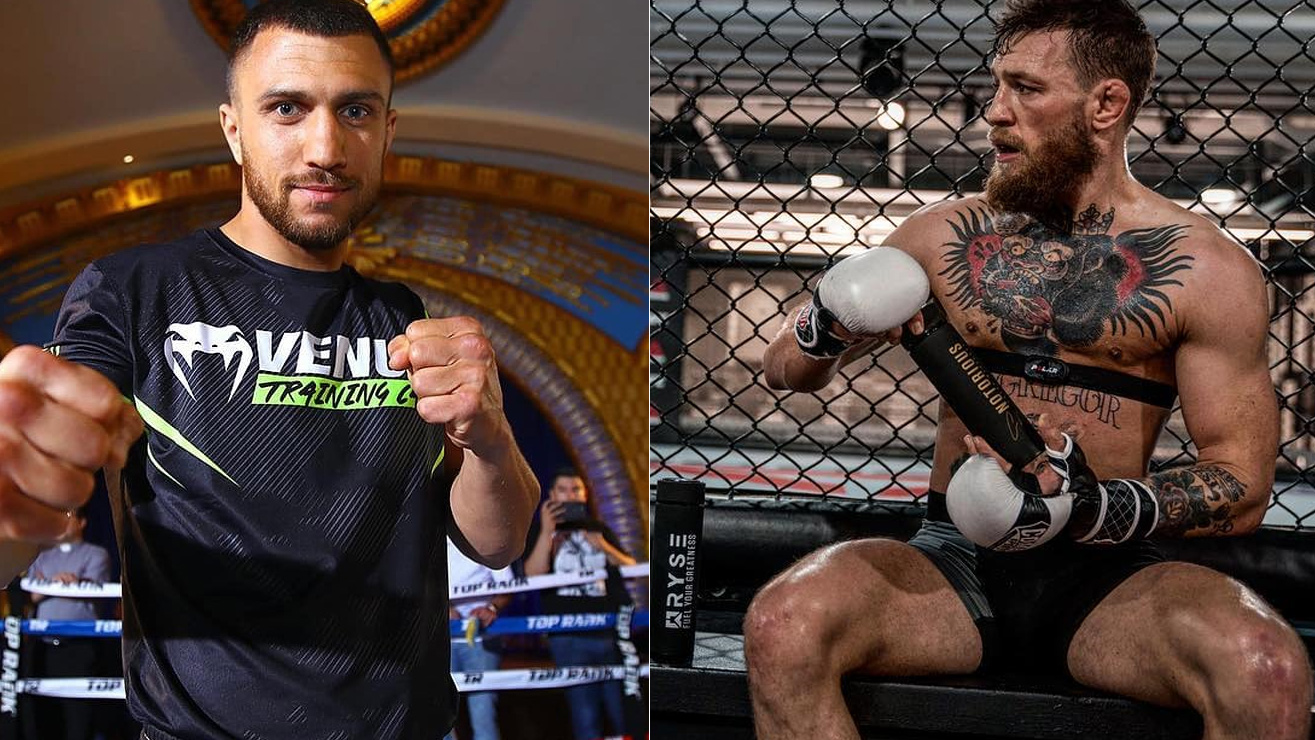 Vasyl Lomachenko Says He 'Can Beat Conor Mcgregor Easily' In A Potential Boxing Match