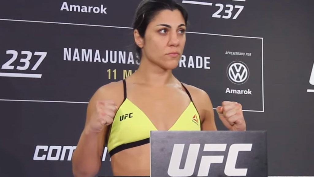 UFC 237: Bethe Correia Came Overweight By Five pounds, Fight Stays On