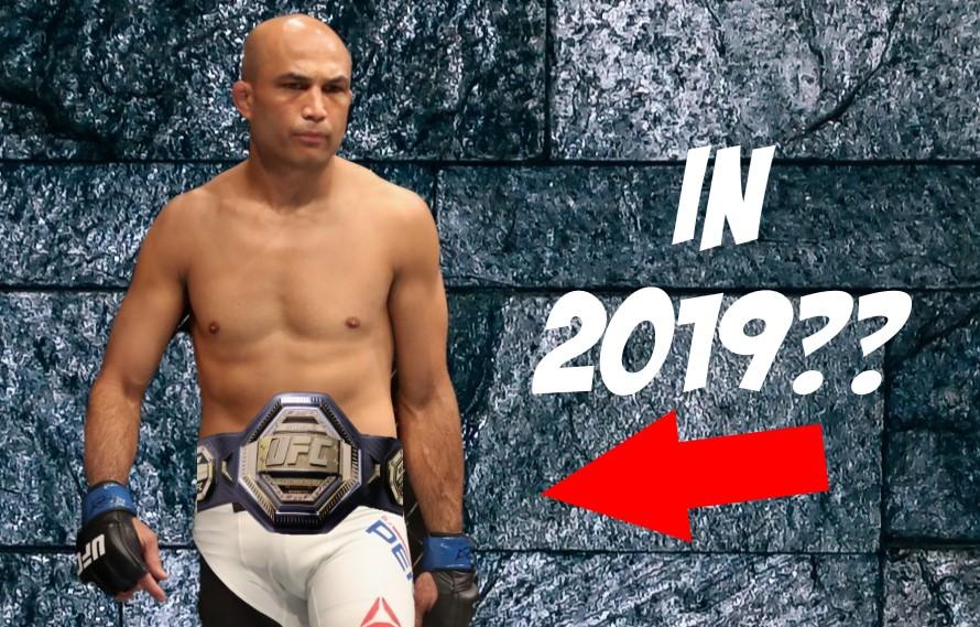 UFC 237: B.J. Penn Still Thinks He Can 'Get The Belt Back'
