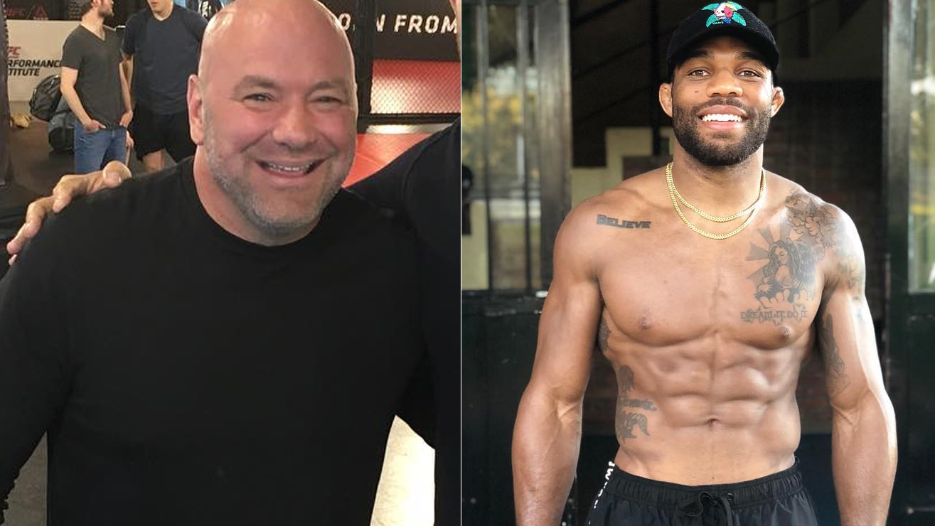 cb3c7f2ae4c Dana White Says He'd Be 'Very Interested' In Bringing U.S. Olympian ...