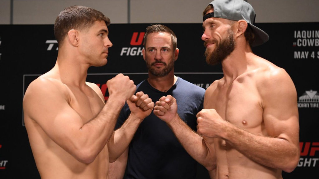 How To Watch UFC on ESPN+ 9 'Iaquinta vs. Cowboy': Full Fight Card, Start Time & Results
