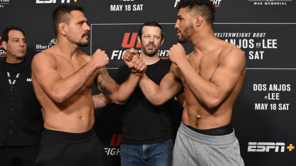 How To Watch UFC Fight Night 152 'Dos Anjos vs. Lee': Full Fight Card Start Time & Results