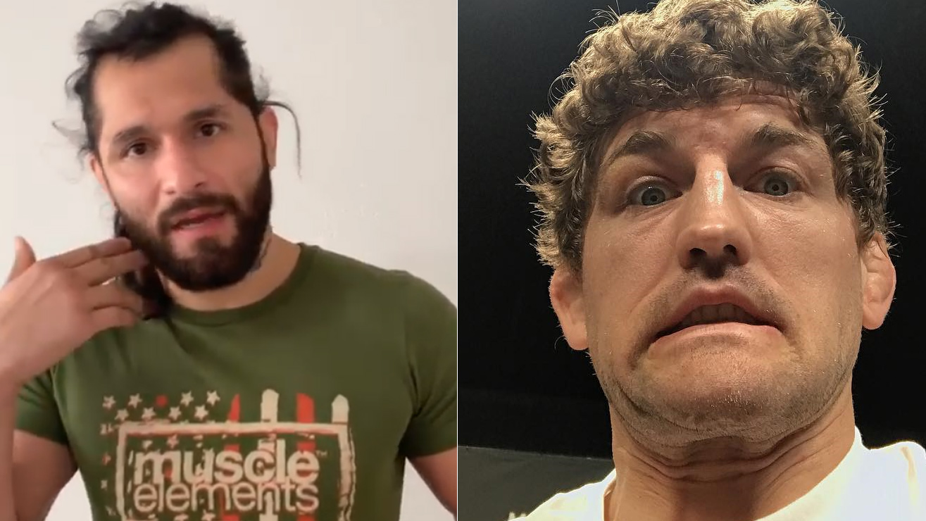Jorge Masvidal Takes Aim At Ben Askren With Old Photo Of ...